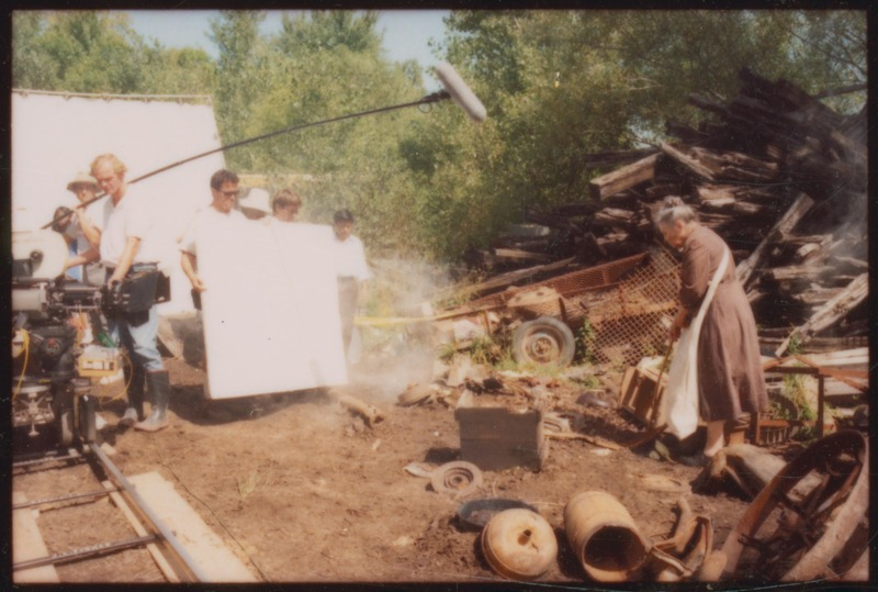 Angie Torres as Doña Cuquita rummages through the town dump. &lt;br /&gt;<br />