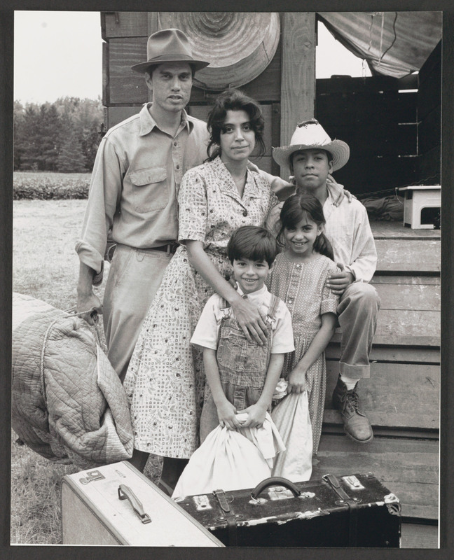Rose Portillo, center, as Florentina. <br /><br /> Photograph by Carlos Rene Perez. Severo Perez Papers, Wittliff Collections, Texas State University.