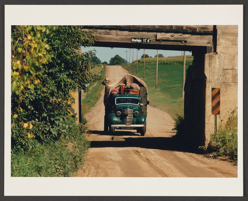 The migrants&amp;#039; truck drives along a Minnesota highway. &lt;br /&gt;<br />