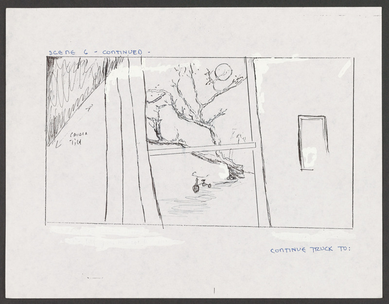 Severo Perez&amp;#039;s storyboard for the &amp;quot;Calling the Devil&amp;quot; scene.  &lt;br /&gt;<br />