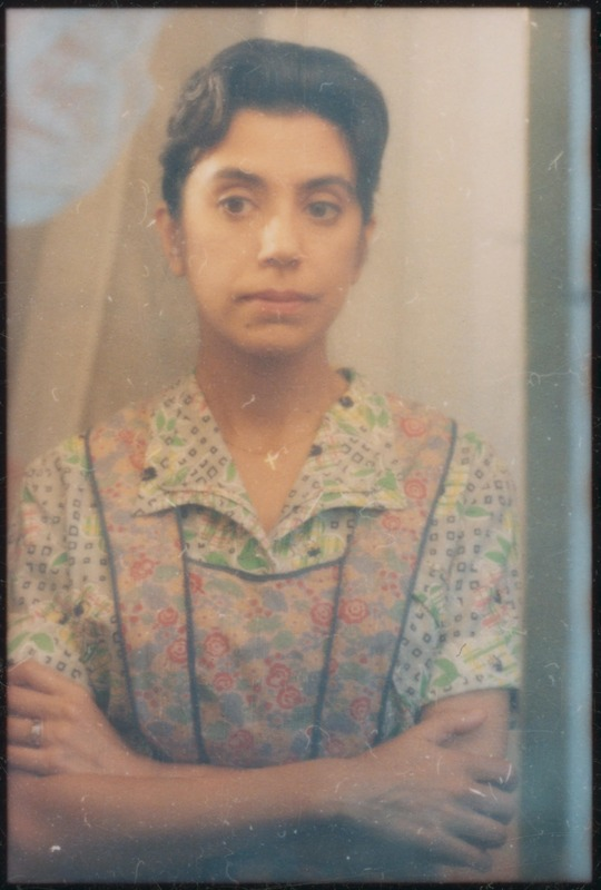 Rose Portillo as Florentina. <br /><br /> Photograph by Carlos Rene Perez. Severo Perez Papers, Wittliff Collections, Texas State University.