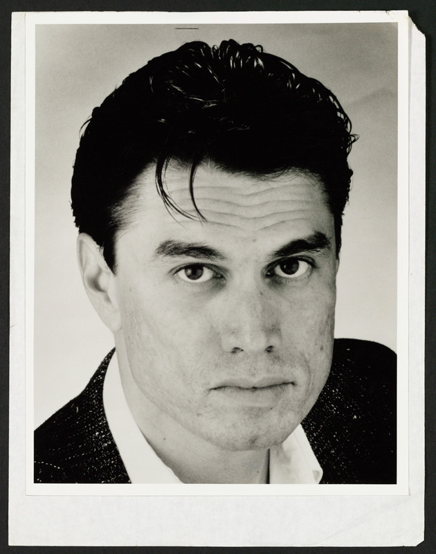 Marco Rodriguez headshot used in casting &quot;...and the earth did not swallow him.&quot; <br /><br /> Severo Perez Papers, Wittliff Collections, Texas State University.
