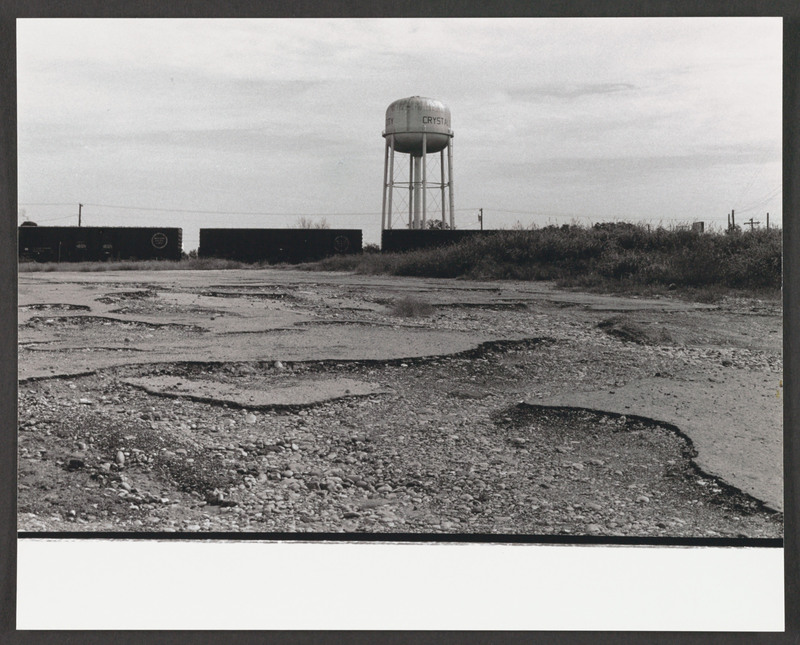 Crystal City water tower. Location scouting photo by Severo Perez. &lt;br /&gt;<br />