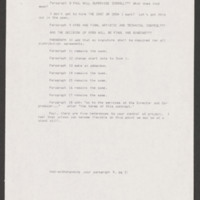 Memo from Writer, Director, and Co-Producer Severo Perez to Producer Paul Espinosa, January 14, 1992. &lt;br /&gt;<br />