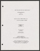 screenplay March 1991 American Playhouse Rewrite