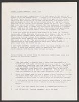 script: SP notes on rewrite, July 1991