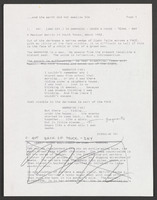 screenplay: draft of final script with many handwritten edits by SP