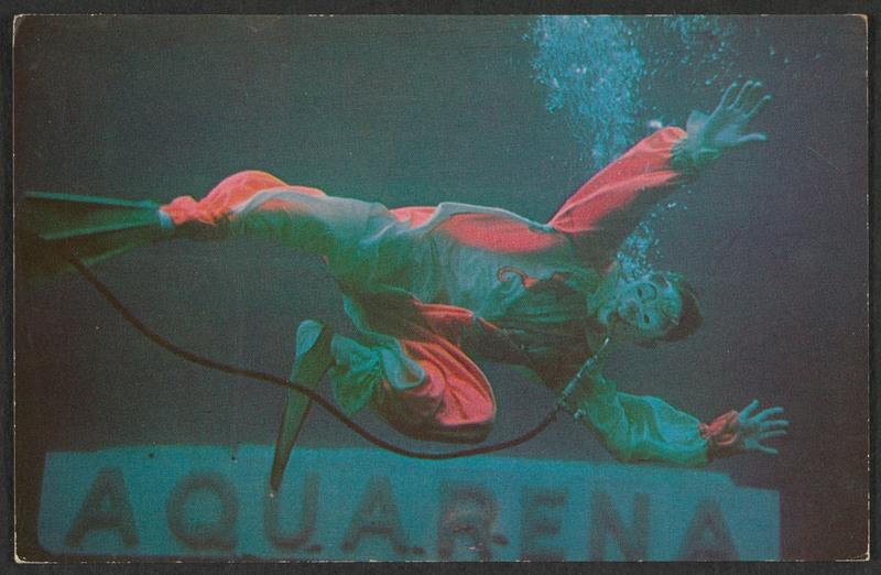 Glurpo, Aquarena's famous aquatic clown