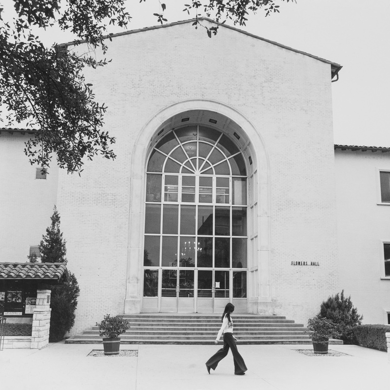 Main library entrance, 1960<br /><br />