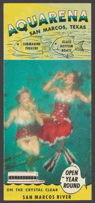 Aquarena brochure, circa 1960s