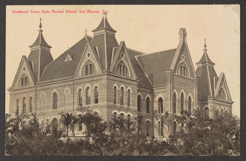 Old Main, Southwest Texas State Normal School