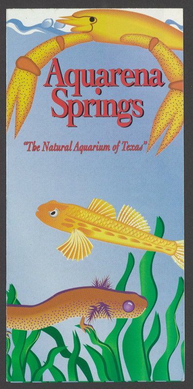 "Aquarena Springs ""The Natural Aquarium of Texas"", circa 1990s"