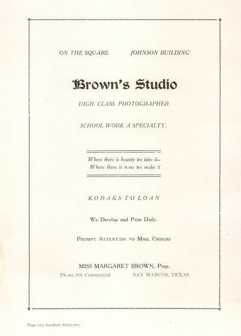 Brown Studio advertisements