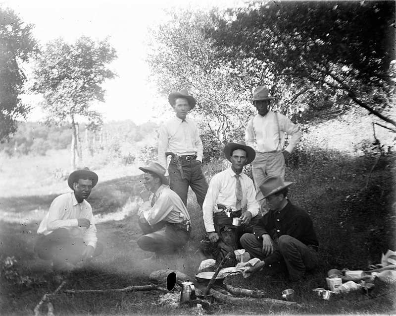 Central Texas Glass Plate Negative Collection