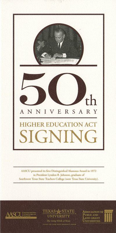 HEA 50th Anniversary Program