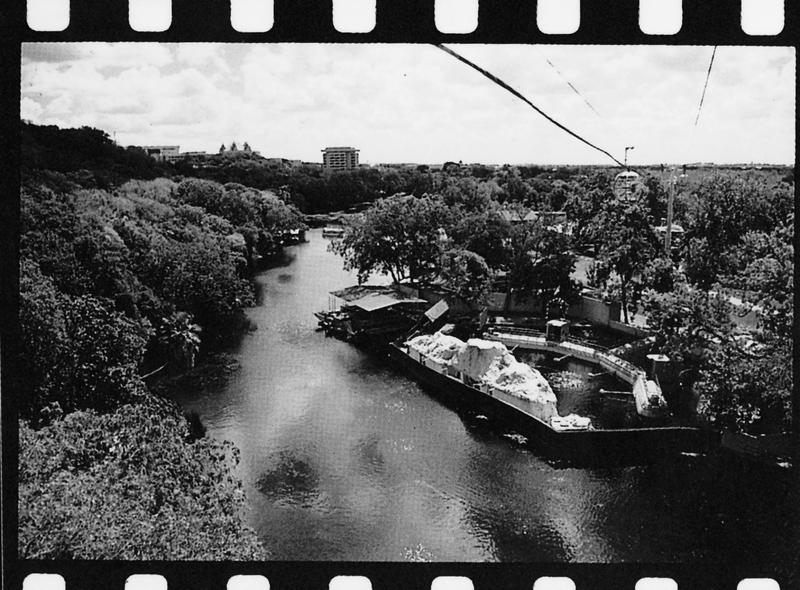 Aerial view of Aquarena Springs
