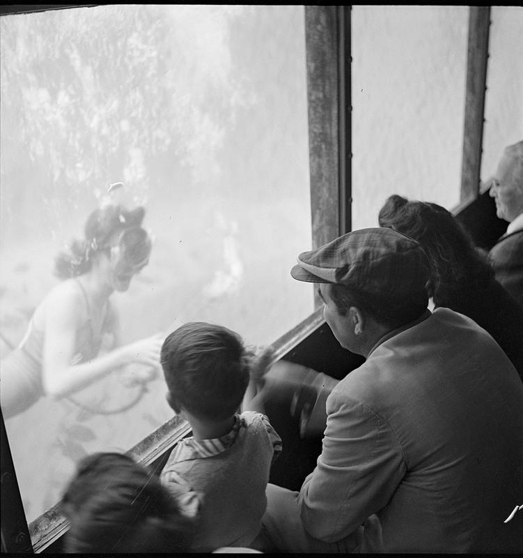 Submarine Theatre, Aquarena Springs, circa 1950s<br /><br />