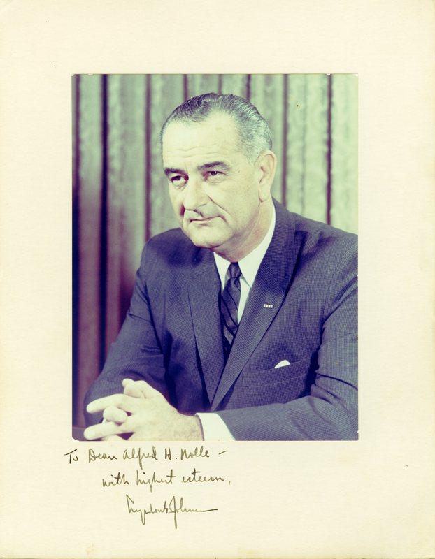 Signed Johnson Portrait